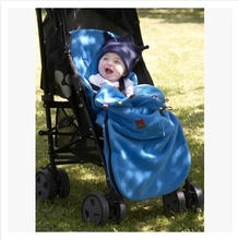 Double layers polar fleece pram footmuff baby stroller sleeping bag sleep sack carriage foot cover fleabag