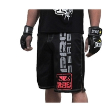 Free shipping MMA Boxing breathable cotton boxer shorts match fitness training muay thai boxing mma fight shorts kickboxing
