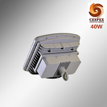 AC100-277v 50/60Hz IP68 UL844 ATEX 40w explosion proof LED highbay light with loop for zone 1 class I hazardous location