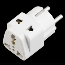 Hot EU Standard Power Plug Adapter Travel Converter Australia UK USA EU Converter Wholesale
