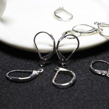 Buy Wholesale 20 Pcs lot Zinc Alloy Silver Plated Hooks Coil Ear Wire Earrings Findings Jewelry Accessory DIY Earring free Store) for $1.02 in AliExpress store