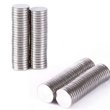 100 Pcs 6mm x 1mm Cylinder Rare Earth Mass Neodymium Magnet Mini Small Disc Magnetic Materials