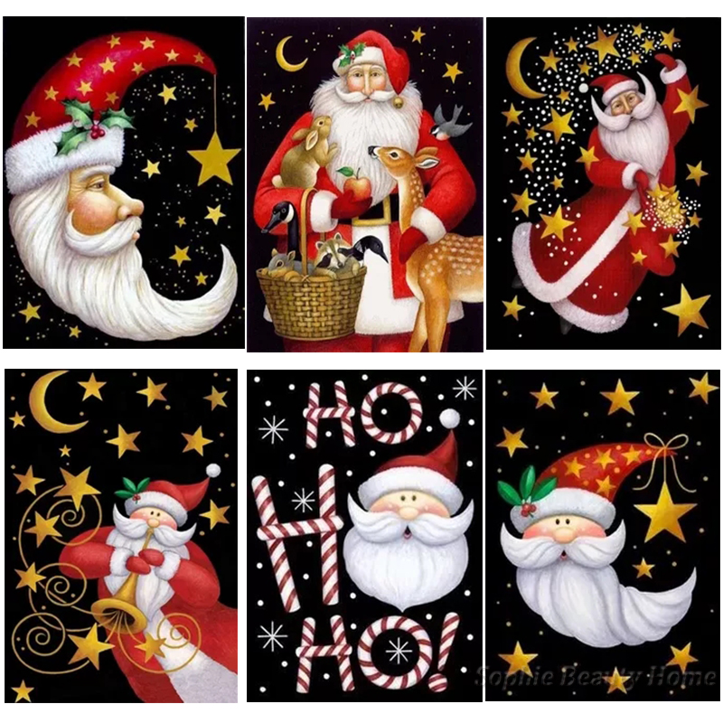 5D DIY Diamond Painting cartoon starry characters 3D Embroidery Home Decor Gift