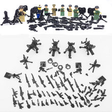WW2 The Pacific War US Navy Soldiers Figures Building Blocks Bricks Toys Military US Army Model Educational Brick Kids Toys