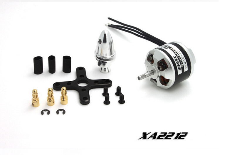 1 Piece EMAX XA2212 820KV 980KV 1400KV Brushless Motor for Fixed-wing Six-axle Aircraft Quadcopter F12055-F12057<br><br>Aliexpress