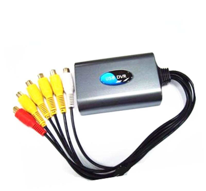 For Win7 CCTV Camera Change Into Computer 4CH  USB DVR <br><br>Aliexpress