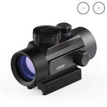 BIJIA Optics Scope 1X30 Reflex Riflescope Red/Green Dot Tactical Sight 20mm Rail Mount Rifle Scope Hunting Sight