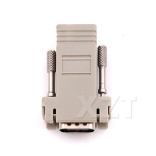 Newest VGA to RJ45 connector Network Cable  New VGA Extender Female To Lan Cat5 Cat5e RJ45 Ethernet Female head Adapter