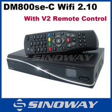 dm 800 hd se DVB-C cable TV receiver with DM800se V2 remote control H.264 Hardware decoding DVB C tuner wifi full HD receiver