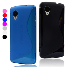 Coque For LG Nexus 5 Case S Line Matte Soft Plastic TPU Gel Case For Google E980 Nexus5 D820 Fundas Rubber Silicone Phone Cover