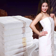 Luxury Hotel Bath Towels White For Adults Cotton Toalha Banho Quick Drying Women Towels Bathroom Cotton Towel Large Men QQC142