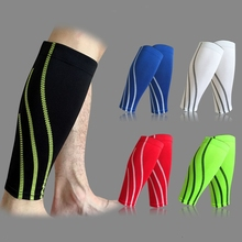 1PCS Football Pads Shin Guards Soccer Protective Leg Calf Compression Sleeves Sports Safety Cycling Running Fitness HT001