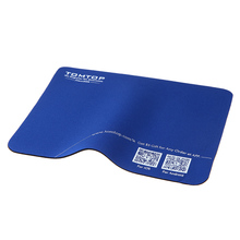 Promotion!!! Super Soft Mouse Pad Mat with TOMTOP Logo Mouse Pads Computer Peripherals Top Quality Wholesale Retail(China)