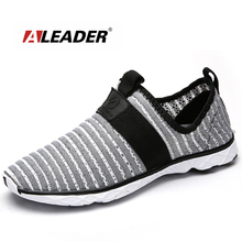 Aleader New Walking Shoes For Men Comfortable Mesh Sport Sneakers Athletic Training Sneakers Plus Size 36-47 zapatillas hombre