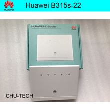 Unlocked Huawei B315s-22 150Mbps CAT4 4G cpe wifi router 3g 4g mifi CPE wireless Router 4G WiFi PK B593 e5172 b310 e5186(China)