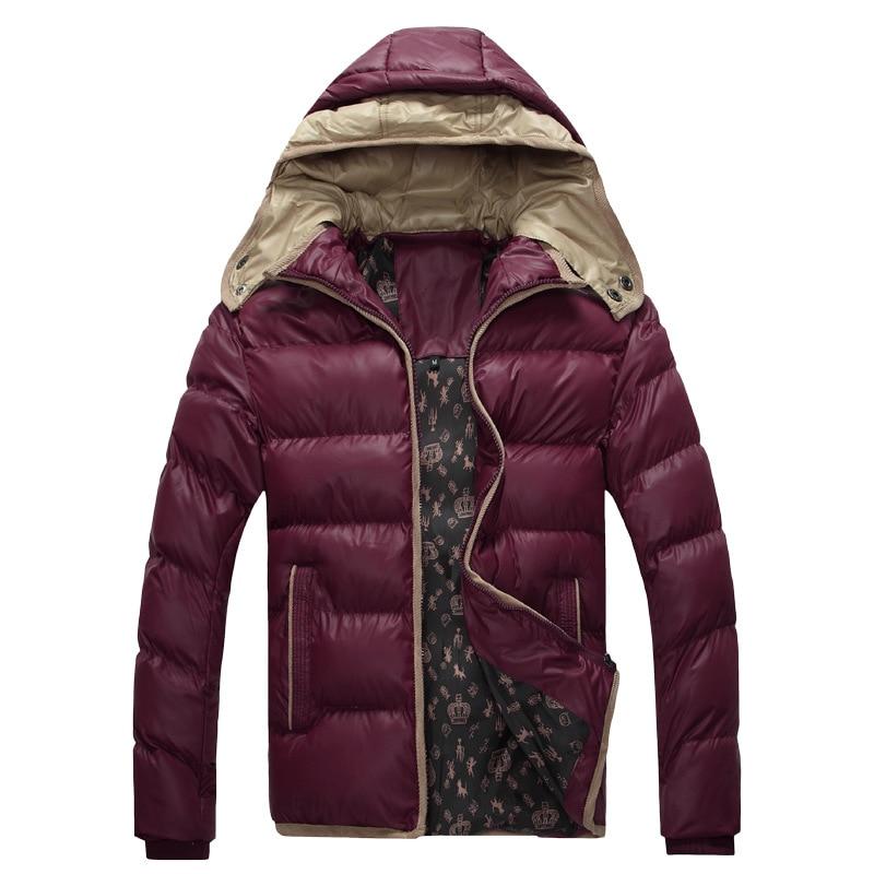 2017 New Men Winter Down Coat Thick Warm Cotton Parkas Jacket Mens Brand Clothing Napapijri Parka Man Down Jackets Size M-3XLОдежда и ак�е��уары<br><br><br>Aliexpress