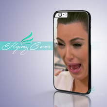 Coque Kim Kardashian Ugly Cry Capa Phone Cases for iPhone X 8 8Plus 7 6 6S 7 Plus SE 5S 5C 5 4S 4 Case for iPod Touch 6 5 Cover.