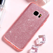 Buy Samsung Galaxy S7 Case Samsung S7 Edge KISSCASE Shining Powder Bling Glitter Soft TPU+PC Phone Cases Samsung S7 Cover for $3.49 in AliExpress store