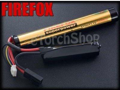 HK register free shipping~~100% Orginal FireFox 11.1V 1350mAh 12C Li-ion Airsoft Battery<br>