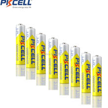 8Pcs AAA  Rechargeable NIMH Battery 1000mAh  1.2V  PKCELL brand and 8pcs Bulk Rechargeable Ni-MH AA 2600mAh 1.2V Battery for