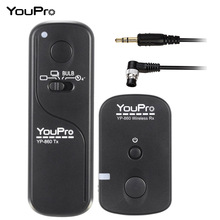 YouPro YP-860 DC0 16 Channels 2.4G Wireless Remote Control Shutter Release Transmitter Receiver for Nikon Fujifilm DSLR Camera