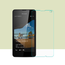 2PCS Tempered Glass Film For Nokia Microsoft Lumia 550 Film 2.5HD Screen Protection Film For Nokia Lumia 550 glass protector(China)