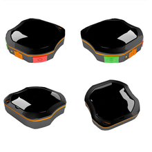 Mini Portable GPS Tracker Black Excellent Waterproof,Real Time Accuracy Monitor,Free Fee For GPS Platform,Free Shipping(China)