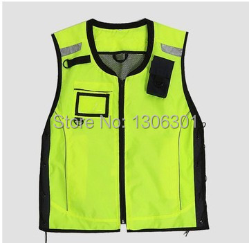 Cycling Windproof Reflective Safety Vest/Reflective jackets/Motorcycle riding clothes/ Bicycle safety reflective vest<br>