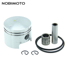 2 Stroke Air Cooling Engine Parts 44mm Piston 10mm Pin Ring Set fit for 44-5 Mini ATV HH-122(China)
