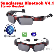 2016 Newest Sport Wireless Sunglasses Bluetooth V4.1 Headset Headphone Music & Call For Apple iPhone 4 5 5s 6 6s Plus Samsung LG