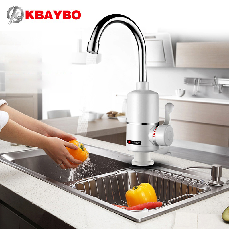 3000W Electric hot water tap Electric Water Heater Bathroom/Kitchen instant electric water heater Tankless A-076<br><br>Aliexpress