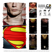 EXPRESS SHIPPING 3D Designs Superman Seamless Bandana Iron Man Outdoors Scarf Unisex Cycling Bandana Women Skull Headband Scarf
