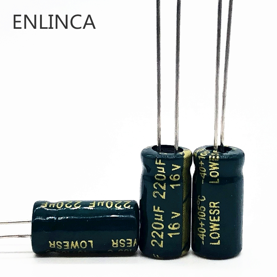 USA SHIPPING 10 Pieces 100uF 16V Radial Electrolytic Capacitor