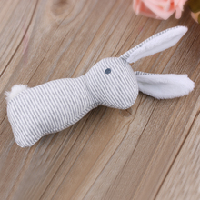 New Cute Cartoon Sound Rabbit Soft Plush Toy Animal Doll Baby Kid Children Birthday Gift
