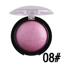 2017 New MISS ROSE 1pc Long-lasting Natural Beauty Cosmetic Blush Palette Makeup Blusher High Quality Christmas Gift(China)