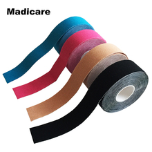 2.5cmx5m Original Kinesiology Tape Cotton Waterproof Athletes Sports Tape Used Golf Hunting Running Fitness Ankle Protector(China)