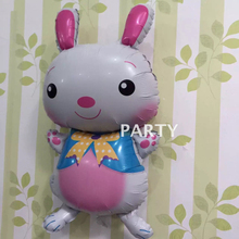 70x40cm ballons funny balloon animals toys rabbit shaped kids birthday party decoration children's party inflatable balloons(China)