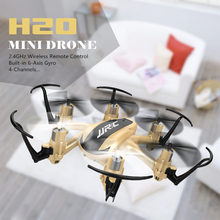 Buy JJRC H20 Mini Drone 2.4G 4CH 6 Axis RC Quadcopters Professional Palmed Design Flying Helicopter Remote Control Toys Kids for $27.69 in AliExpress store