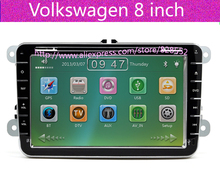Free Shipping Volkswagen car DVD Radio For vw polo / bora / Sagitar / magotan / touran/caddy / tiguan / passat b6 / passat cc