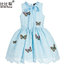 Buy Girls Princess Dresses Costumes Kids Clothes 2017 Brand Summer Girls Dresses Party Wedding Lace Butterfly Children Dress for $13.75 in AliExpress store