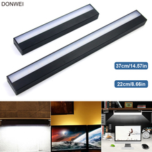 USB Charging Touch Switch Dimmable Night Light Mirror Lights Long Strips Aluminum Wall Lamp For Cabinet Bedside Bathroom Kitchen(China)