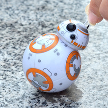 Star Wars RC BB8 Intelligent Upgrade Small Ball Droid Robot BB-8 Action Figure Kid Toy Gift With Sound Model(China)
