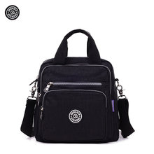 Original JINQIAOER Brand Fashion Women Shoulder Bags Soft Waterproof Nylon Quality Kip Style Monkey Handbag