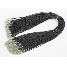 N697 Punk Black Rope Necklace Chain Jewelry Bijoux For Women Men DIY Fashion Jewelry NEW Arrival