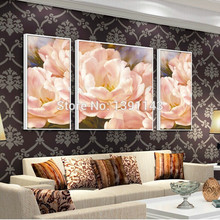 Hot Needlework DIY Diamond painting Cross Stitch FLOWER 3D square rhinestone full dill Pink peony decoration embroidery picture
