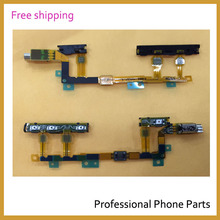 Original On and Off & Volume & Power Flex Cable For Sony Xperia Z3 Compact mini M55W D5803 D5833,