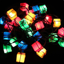 MUQGEW 2017 Newest Fairy Lights Xmas Party Garden Decor 3M 28LED Multicolor String Fairy Light Lamp Party Christmas Decor(China)