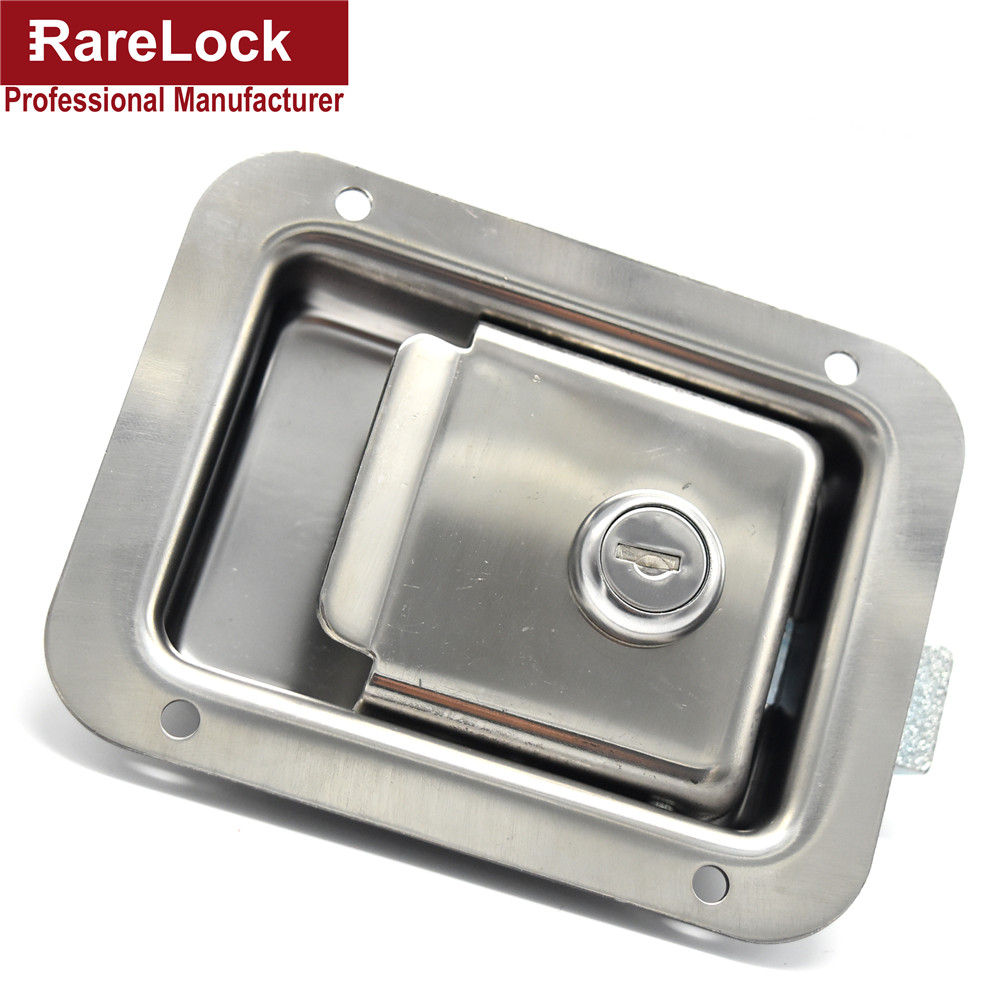 Rarelock High Quality Truck Door Lock Stainless Steel Pickup Accessories Bus,Car Lock Cerradura d<br>