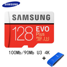 SAMSUNG Microsd Card 128GB 64gb 32gb 256gb 100Mb/s Class10 U3 Micro SD Memory Card TF Flash Card for Computer SDHC SDXC