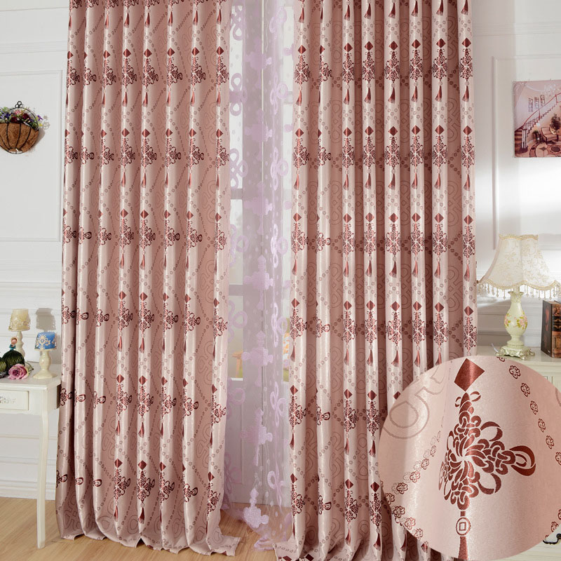 Cortina Aliexpress. Ready Curtains With Beads Jacquard Curtains For ...